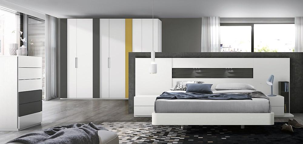 Ambiente de dormitorio moderno - Ambientes de dormitorios ...