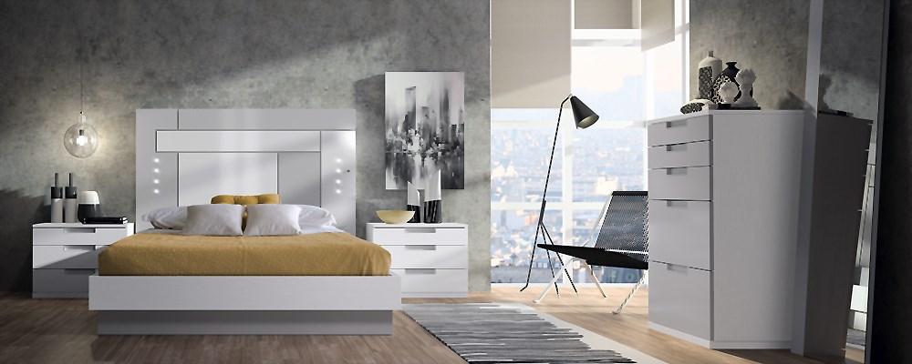 Ambientes de dormitorios modernos - Muebles calle alcala ...