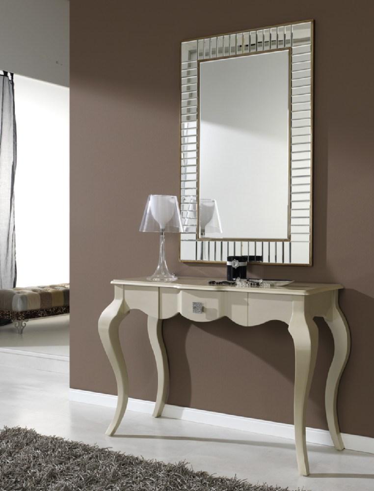 Espejo con forma rectangular for Espejos decorativos para entradas