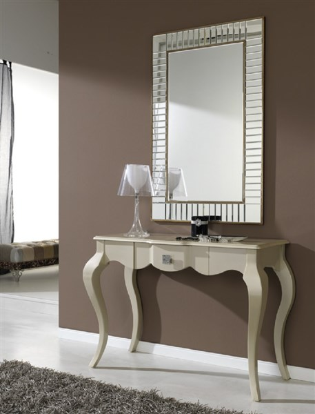 Espejo con forma rectangular for Espejos de diseno para entradas