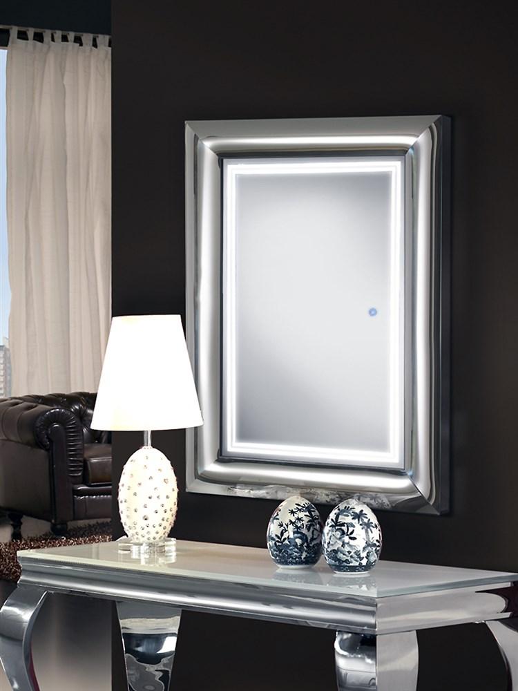 Espejo con luz for Espejo 120 x 50