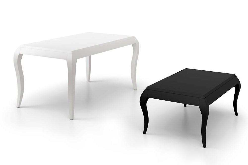 Mesa de comedor y mesa de centro vintage for Mesas de centro comedor